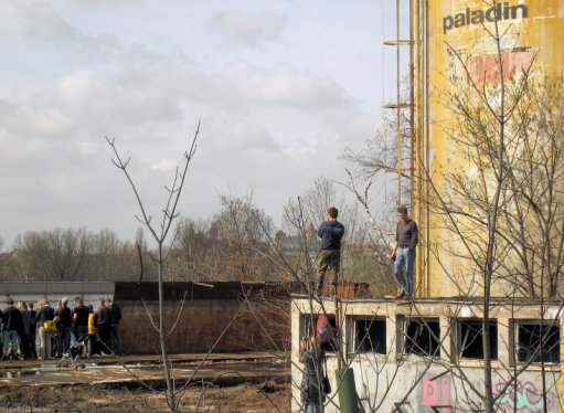 Sprengung Milchhofturm 05
