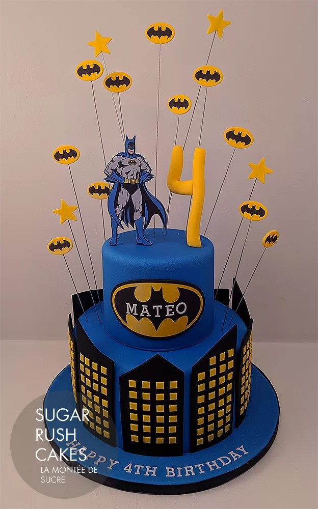 Batman Batcake