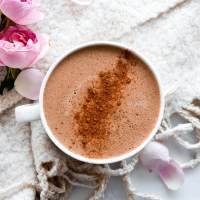 Hot chocolate protein coffee