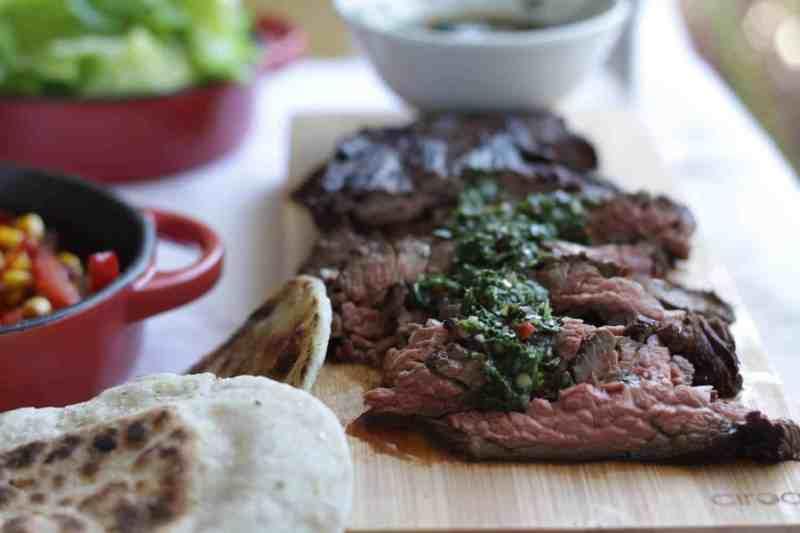 Flank Steak Chimichurri
