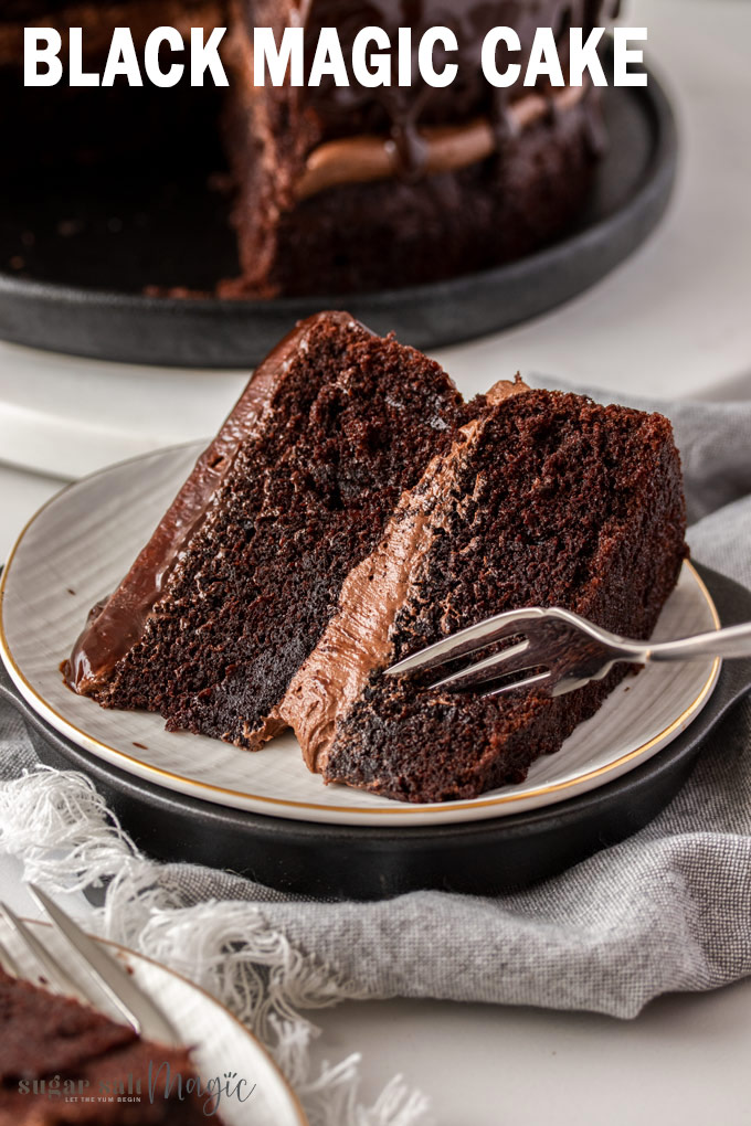 Your friends and family will love this gorgeous and simple moist chocolate cake. Black Magic Cake is a Hershey's recipe that is big on chocolate flavour, perfectly moist and incredibly simple to make.