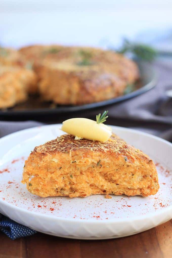 Rosemary and Cheese Scones