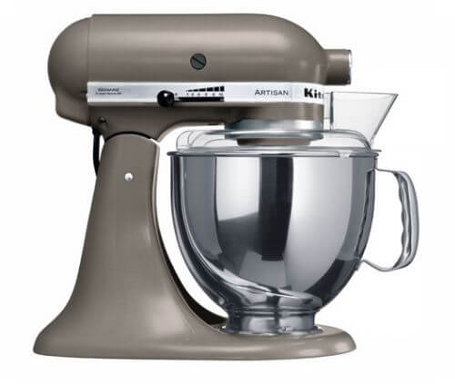 Kitchenaid cocoa silver