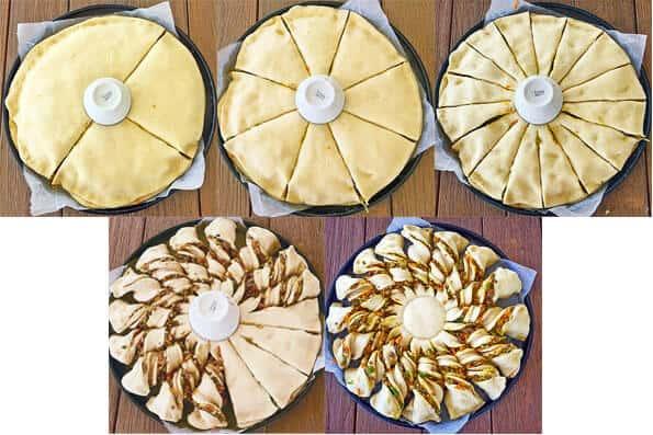 Chiko Roll Pull_Apart Bread Sunburst by Sugar Salt Magic