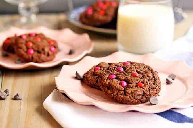 Double Choc Chip Cookies by Sugar Salt Magic