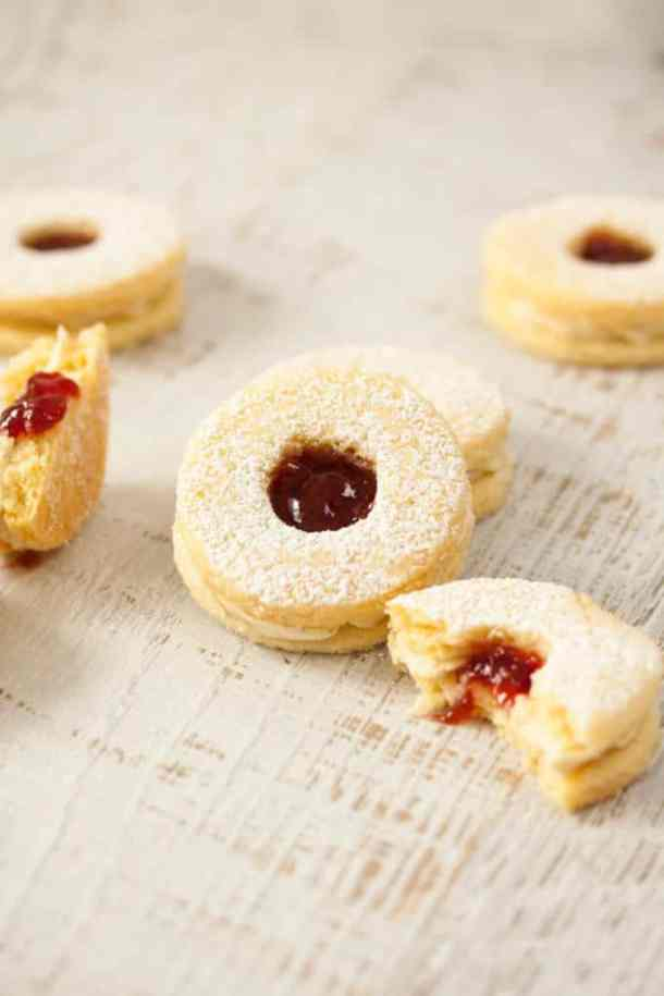 Jam and Coconut Cookies by Sugar Salt Magic