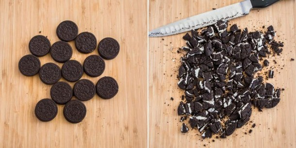 This Oreo Cheesecake Bars recipe is a fun oreo dessert you need to try. A combo of simple cheesecake, homemade chocolate cookie and oreos.