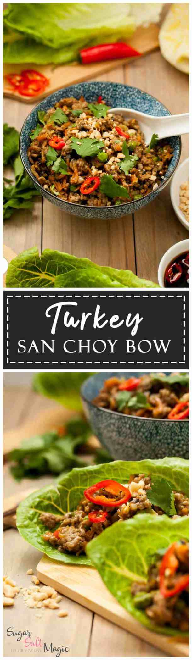 This recipe for my super quick and healthy Turkey San Choy Bow is the perfect weeknight meal, that everyone will love - even the kids!