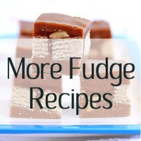 More fudge recipes - chocolate fudge, salted caramel fudge, easy fudge, vanilla fudge