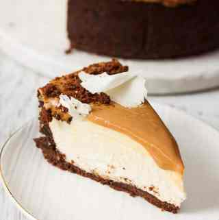 Dulce De Leche White Chocolate Cheesecake Recipe