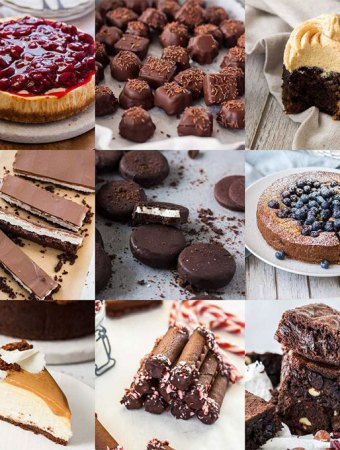 The official Instagram top nine Sugar Salt Magic posts for 2018. Chocolate desserts, peppermint desserts and fruit desserts are your faves.