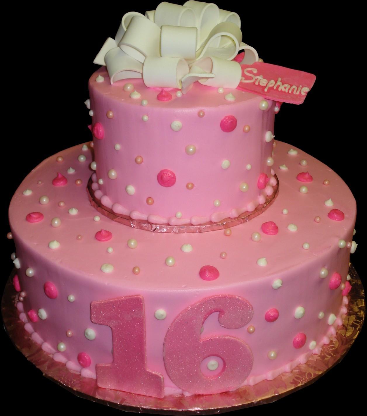 Sweet 16 Birthday Cakes For Teenage Girls