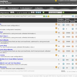 OpenVAS Configuración de Pruebas