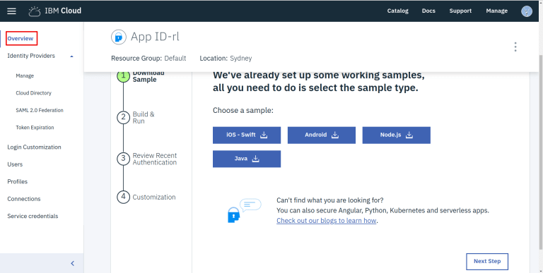 Setting up Single Sign-On (SSO) with IBM Cloud App ID, simpleSAMLphp
