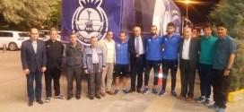 Afyonkarahisar ve İlçeleri Dayanışma Derneği yönetim kurulu Ankara'ya gelen Afjet Afyonspor kafilesini yalnız bırakmadı.