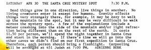 Mystery-Spot