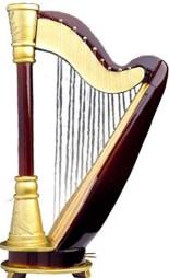 fancy harp