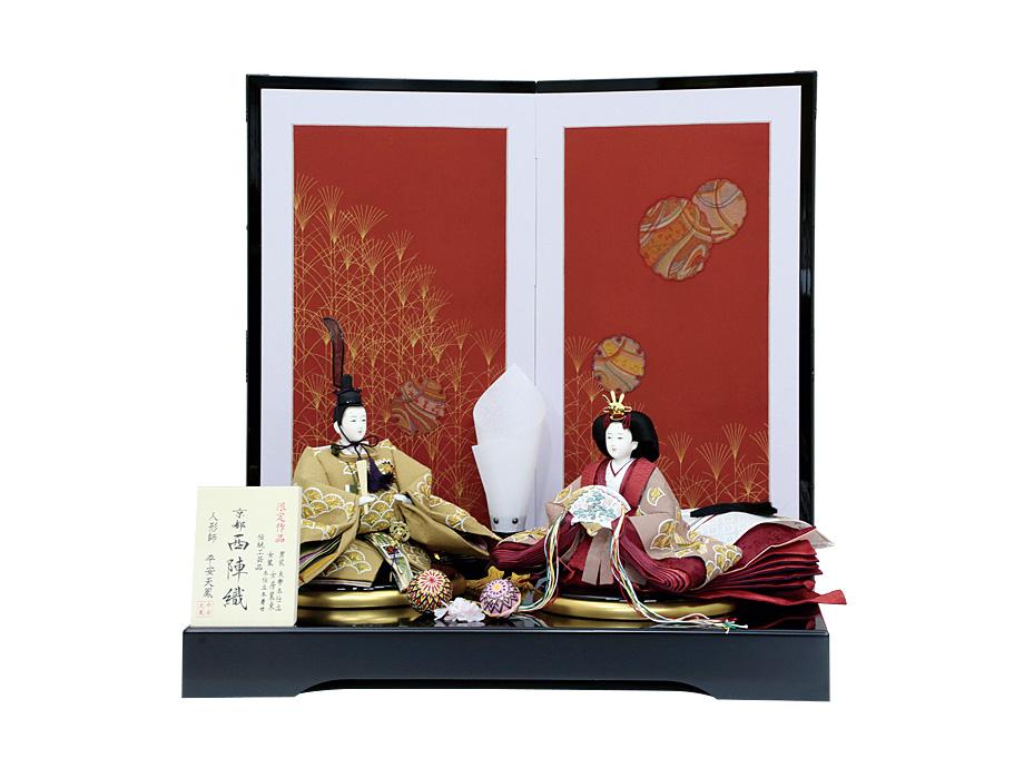 西陣織京八番親王飾り