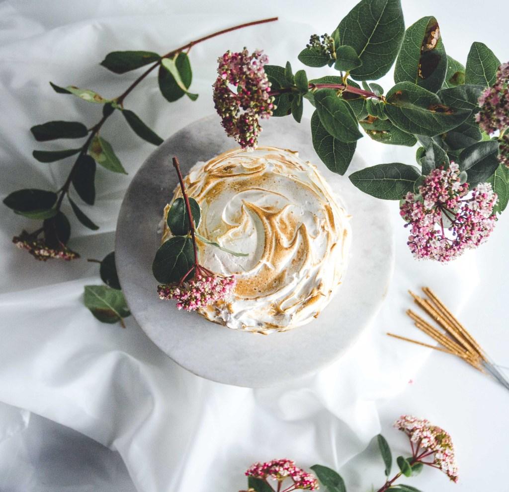 Italiaanse citroen meringue taart
