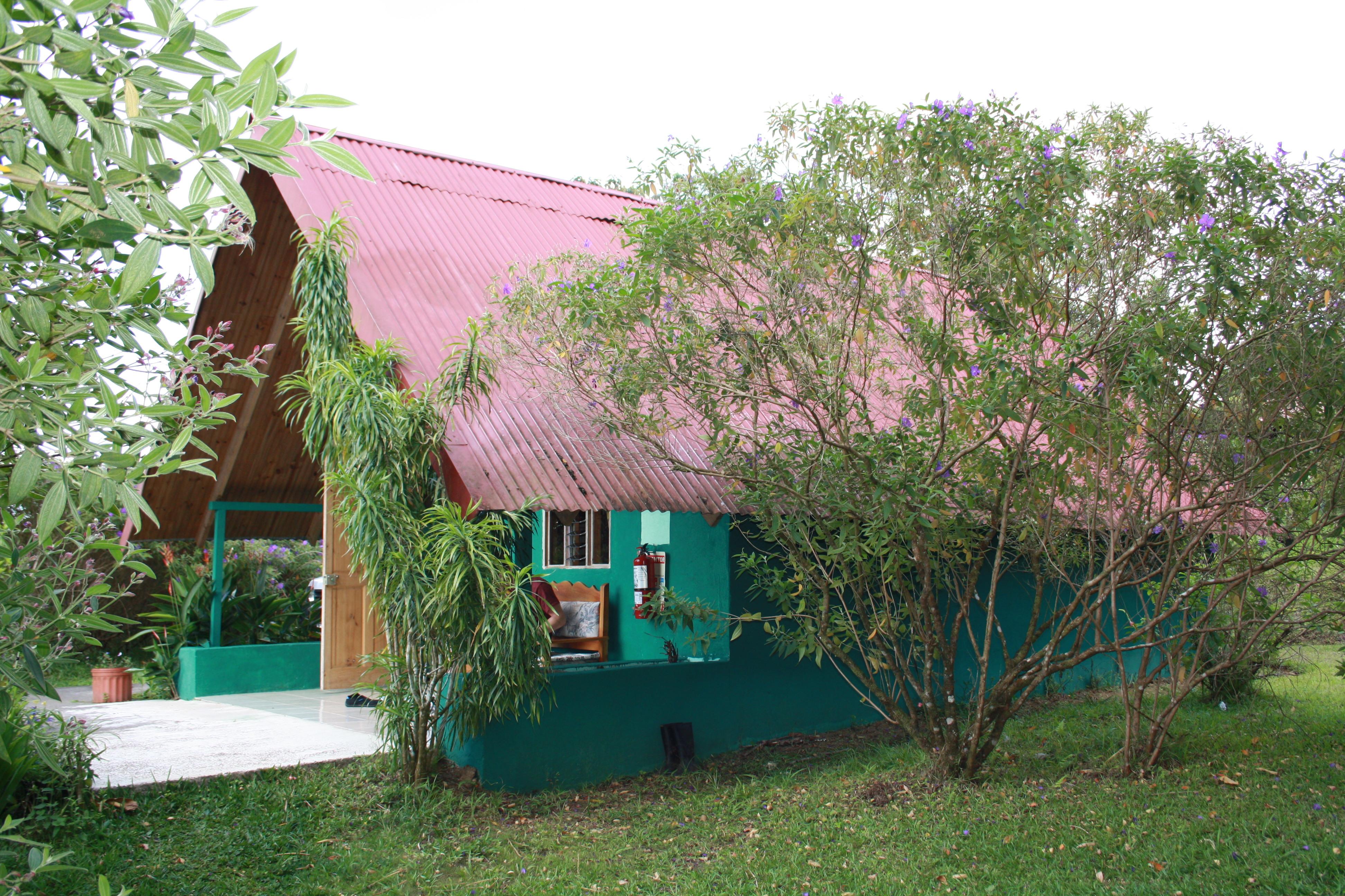 notre hébergement chez José au milieu de la jungle( costa Rica)