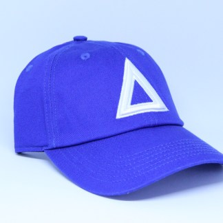 dad-hat-blue-white-triangle (1)