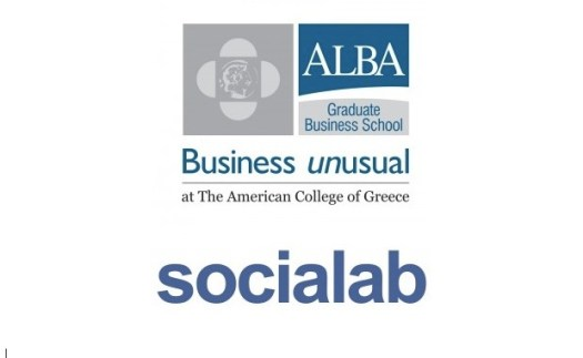 ALBA - Socialab logos