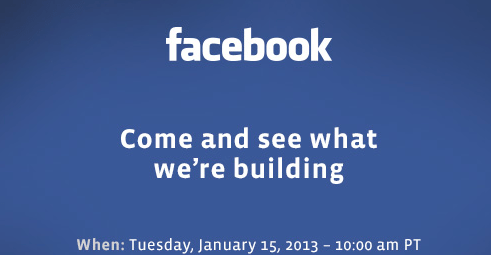 FB Event Jan 2013