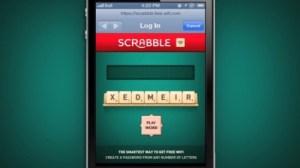 Scrabble+Free Wi-Fi