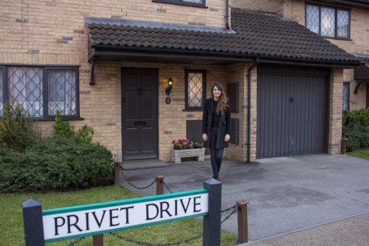 standing at privet drive