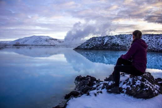 Blue Lagoon, Iceland Solo Female Travel Roadtrip Winter beautiful destinations