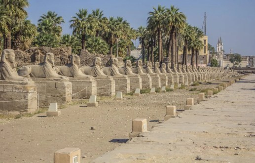 Luxor Temple and the Sphinx Pathway Travel Talk Tours Egypt Solo Female Travel