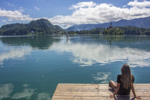 Pilgrimage Church of the Assumption of Maria, Lake Bled, Bled Castle, Slovenia, Solo Female travel, Busabout, Suitcase And I 2