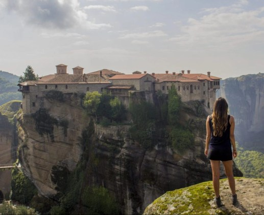 Solo Female Travel Meteora Monastries Greece Monastery of Great Meteoron The Monastery of Varlaam The Monastery of Rousanou:St. Barbara The Monastery of St. Nicholas Anapausas