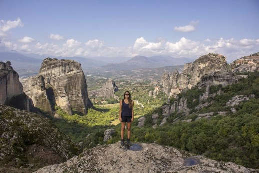 Solo Female Travel Meteora Monastries Greece Monastery of Great Meteoron The Monastery of Varlaam The Monastery of St. Stephen The Monastery of the Holy Trinity 2