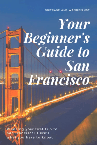 Beginners guide to san francisco
