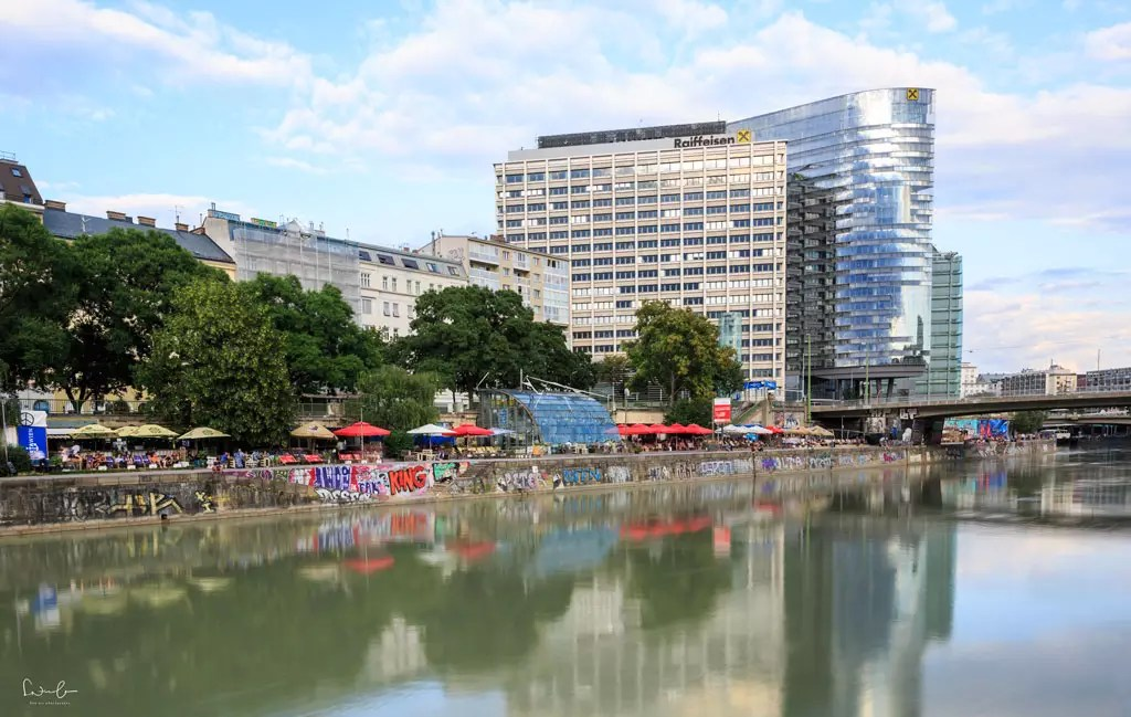 Things to do in summer in Vienna Danube canal
