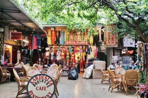 Our oasis in the Grand Bazaar - the Kardesler Brothers Cafe