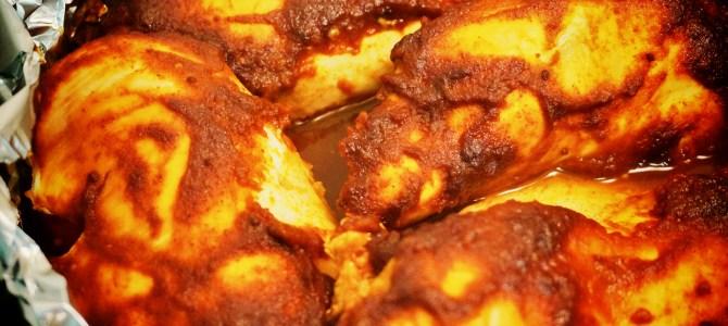 Dutch Oven BBQ Chicken