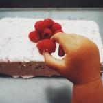 Raspberry Italian Semifreddo