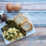 Soft Scrambled Eggs w/ Hatch Chiles | Suitcase Foodist