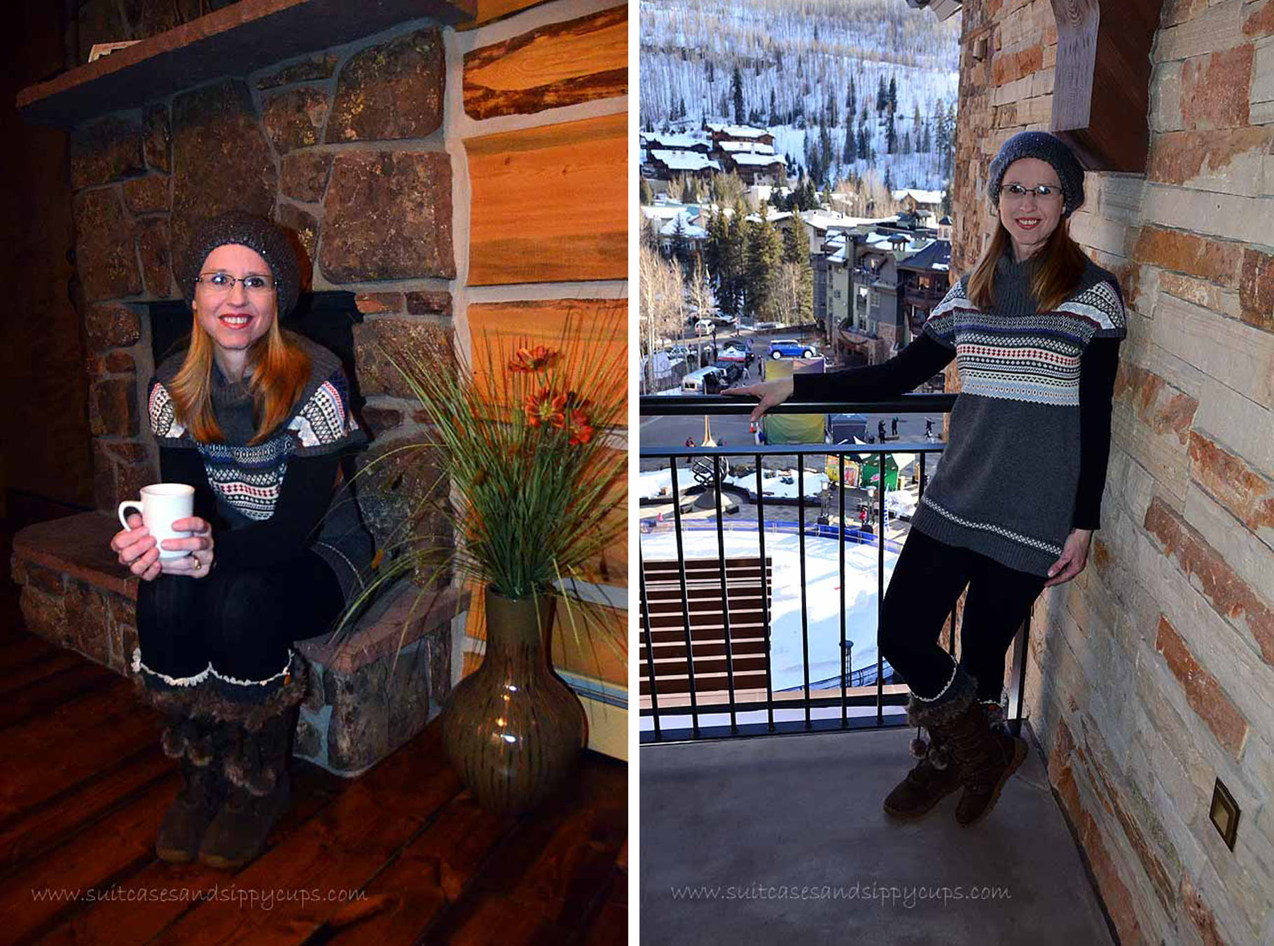Travel Fashion Challenge What To Wear Aprs Ski Or On A