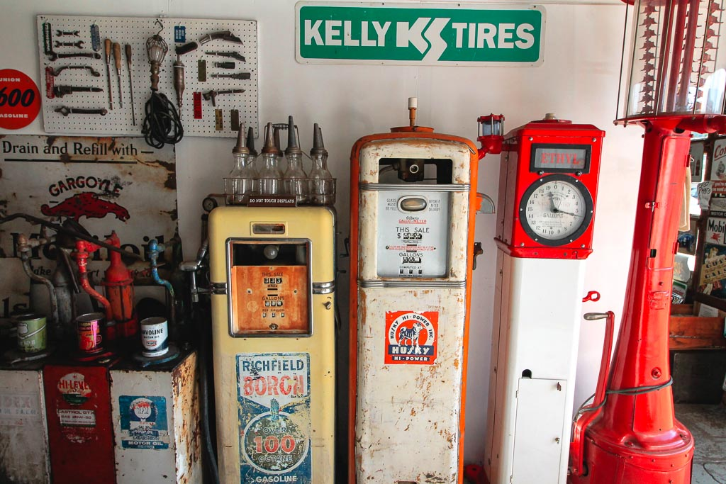 Gas station at Route 66