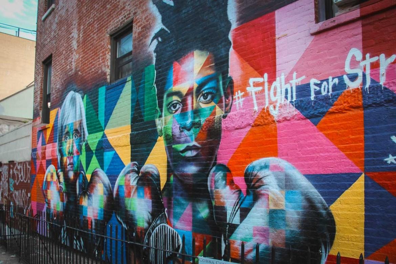 Stunning street art Bushwick Brooklyn