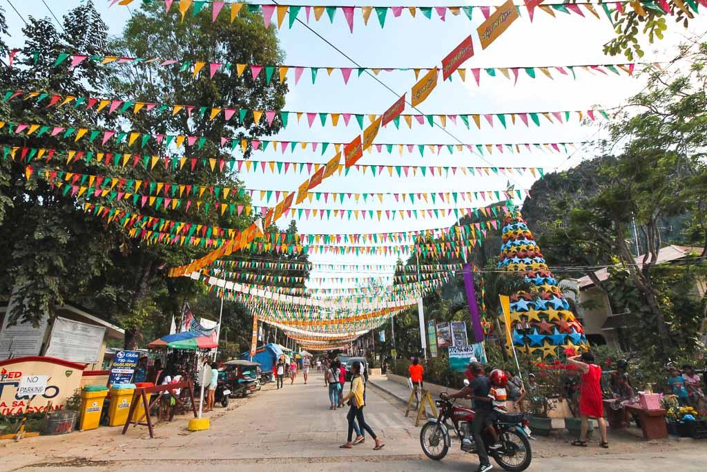 El Nido town Palawan