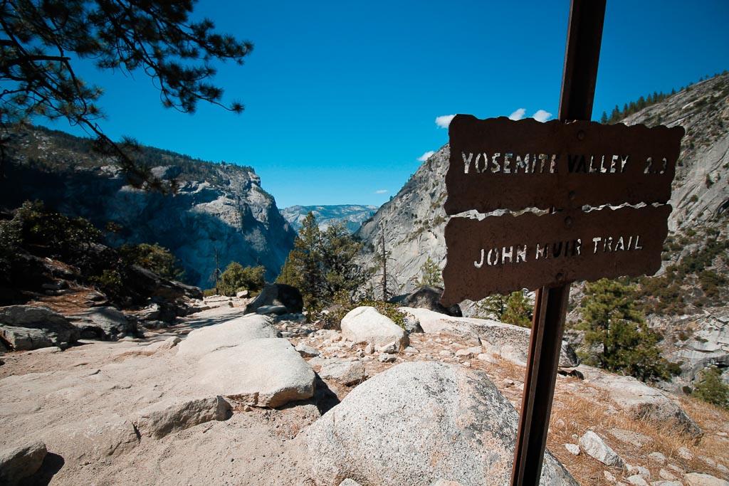 John Muir Trail Yosemite