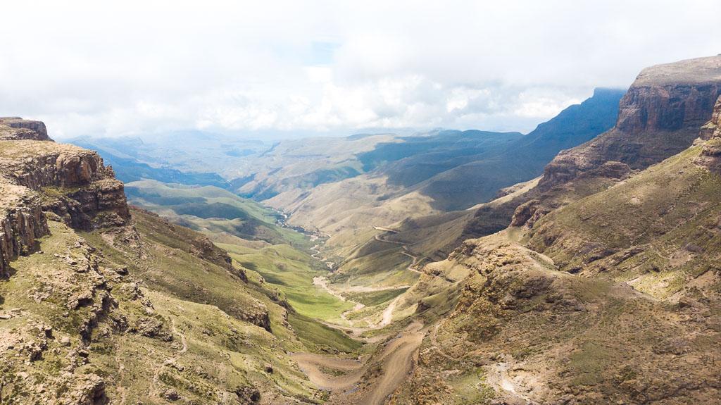 Drakensbergen Lesotho Mountain View