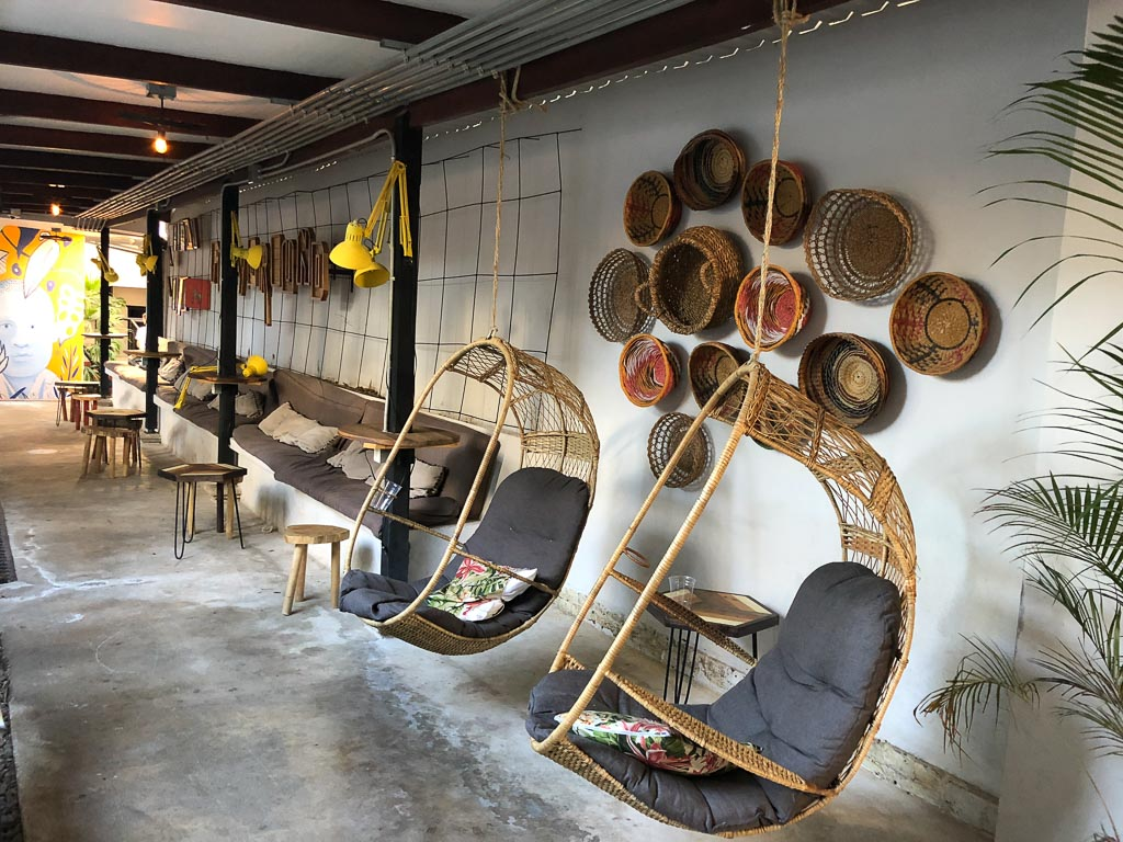 Selina San Jose lounge
