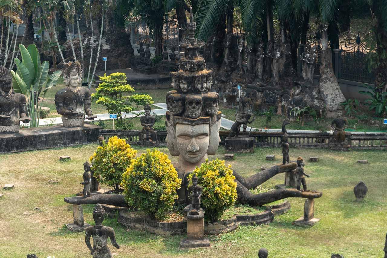 Laos Vientiane Buddha Park