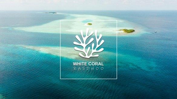 White Coral Island Maldives