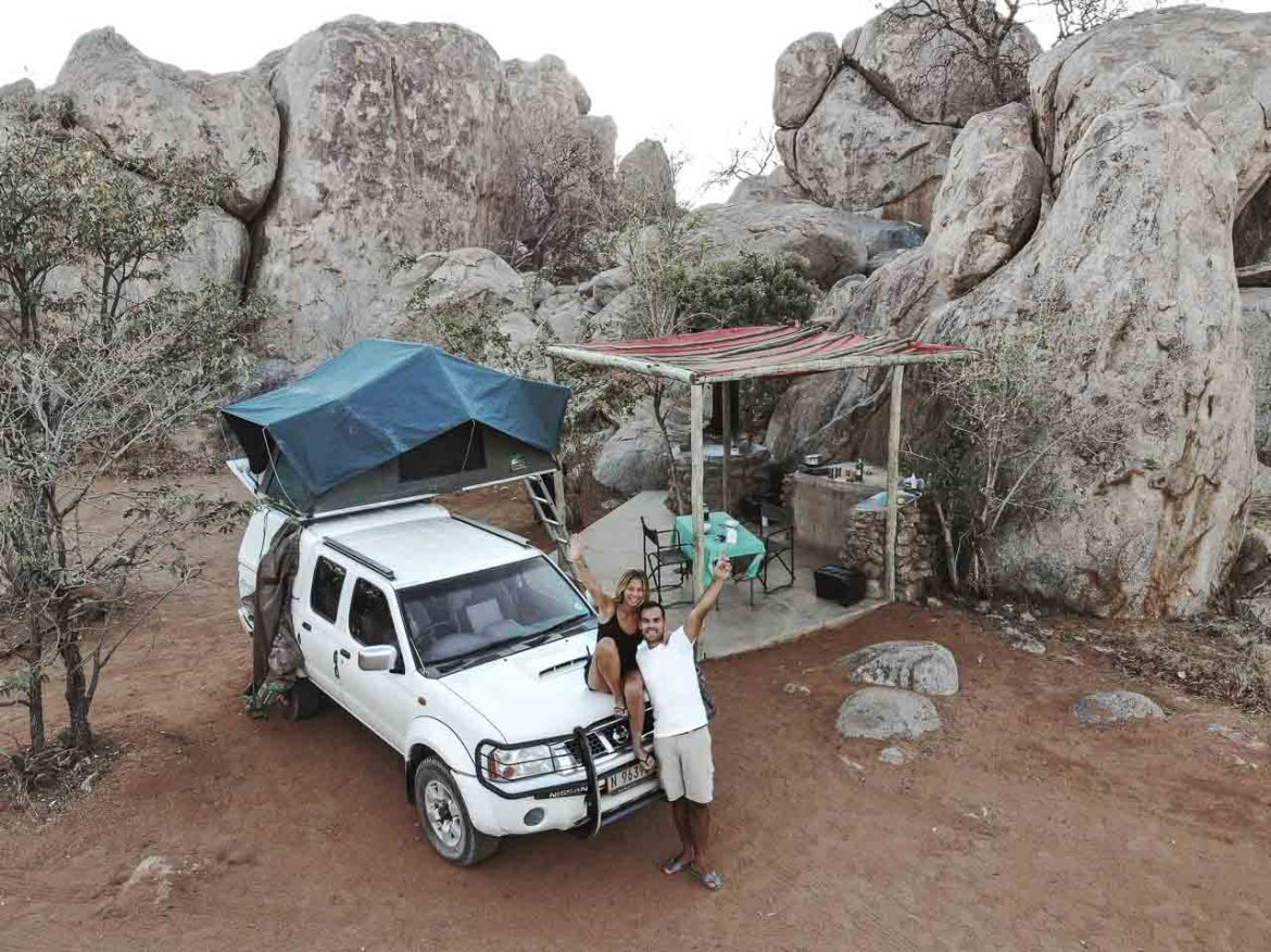The first World trip update: self-drive in Namibia and an overland tour in Africa